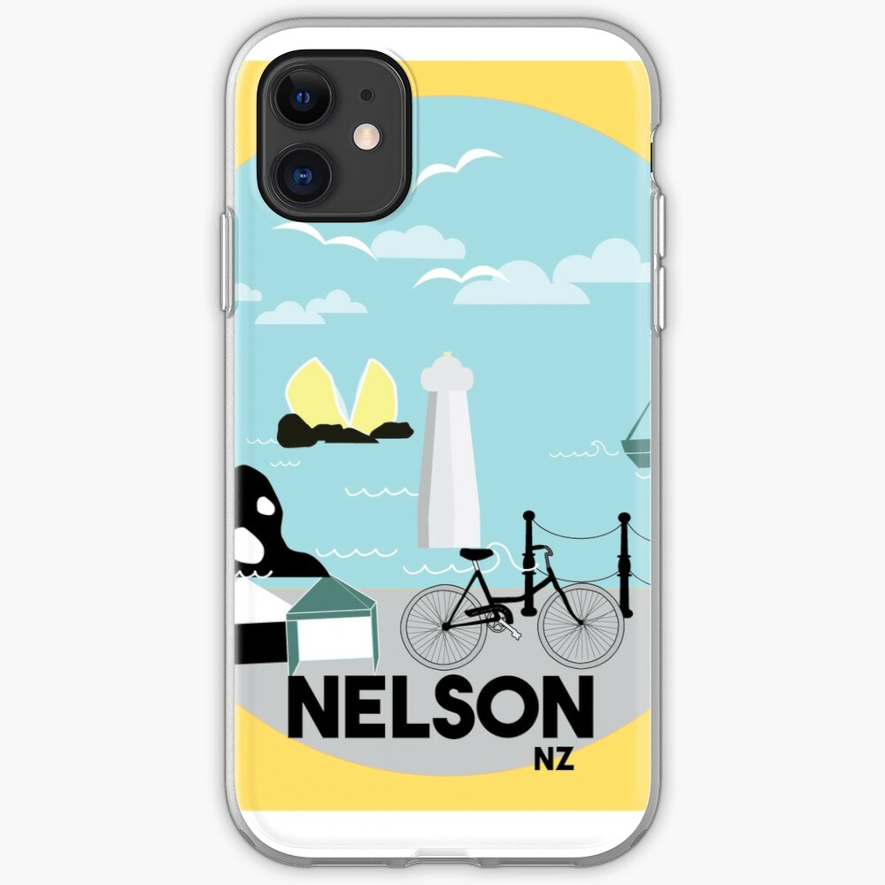 Nelson with the market iPhone Soft Case