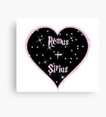 Remus and Sirius 4eva Canvas Print