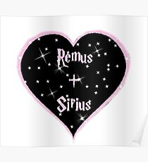 Remus and Sirius 4eva Poster