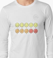 Healthcare Companion Pain Scale Long Sleeve T-Shirt