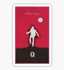 Queens of the stone age - I appear missing art (Tall) Sticker