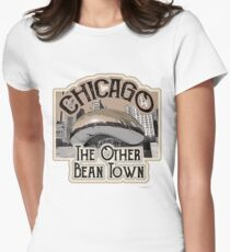 Chicago Bean Travel Design T-Shirt