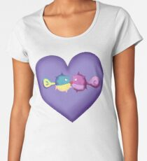 Quilfish Wuv Women's Premium T-Shirt