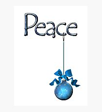 Holiday Peace  Photographic Print