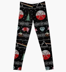 Hey Yule - Pink Christmas Leggings