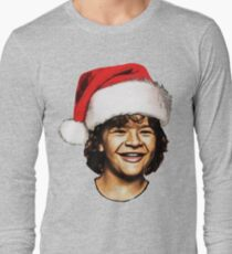 dustin christmas Long Sleeve T-Shirt