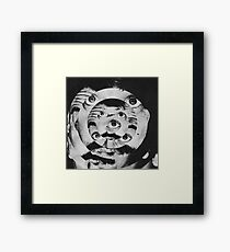 CRAZY: Framed Print