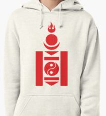 Mongolia Military Aircraft Insignia Pullover Hoodie