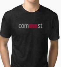 comMUNIst Tri-blend T-Shirt