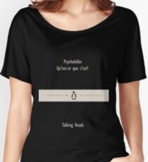 Penguin Classics Talking Heads Women's Relaxed Fit T-Shirt