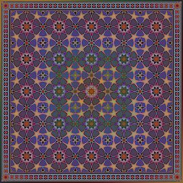 Andalusian Stars - Mauve by omsah