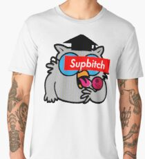 Supbitch - How many licks to Death Star Men's Premium T-Shirt