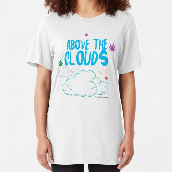 Above the Clouds Slim Fit T-Shirt