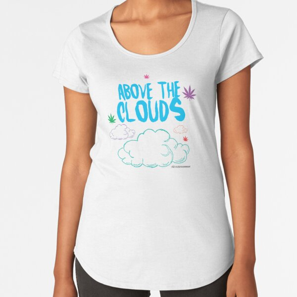 Above the Clouds Premium Scoop T-Shirt