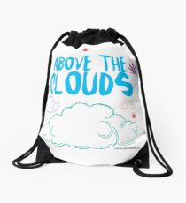 Above the Clouds Drawstring Bag