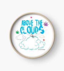 Above the Clouds Clock