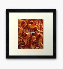 Bacon Framed Print