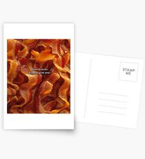 Bacon Postcards