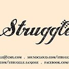Struggle card by Aida  Sheikholeslami