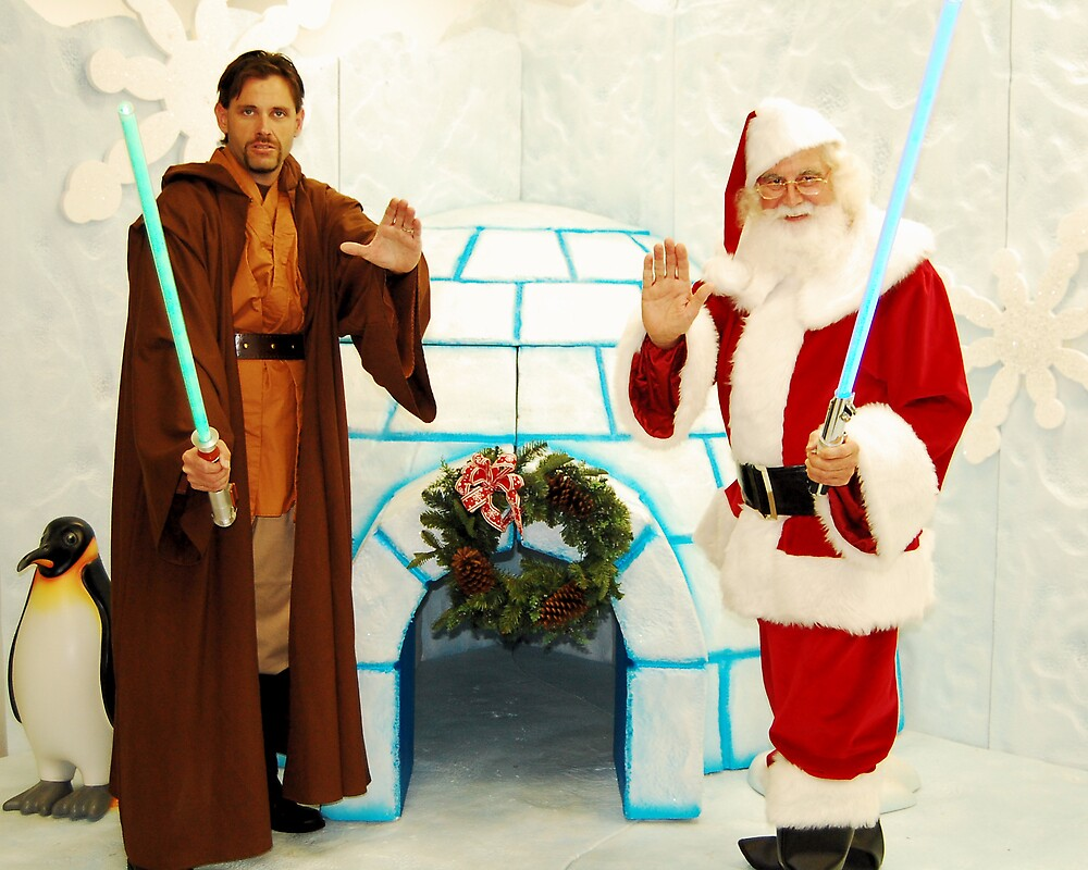 Jedi Christmas by Cynde143