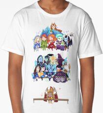 Dota 2 Heroes Long T-Shirt