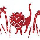 Holiday Kitty Cat by craftyhag