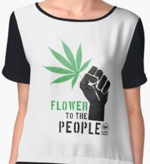 Flower to the People Chiffon Top