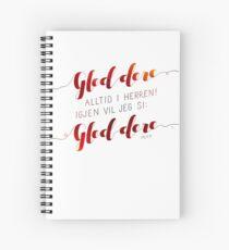 Gled dere alltid i Herren Spiral Notebook