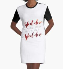 Gled dere alltid i Herren Graphic T-Shirt Dress