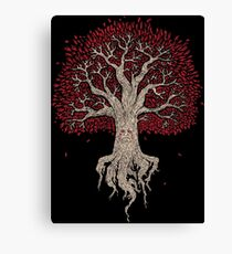 Weirwood Tree - game of thrones Canvas Print