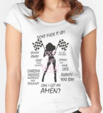 Ru Paul Drag Race Women's Fitted Scoop T-Shirt