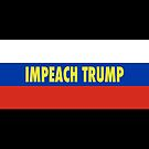 Russian Flag Impeach tRump by Thelittlelord