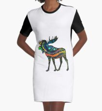 Happy Trails Graphic T-Shirt Dress