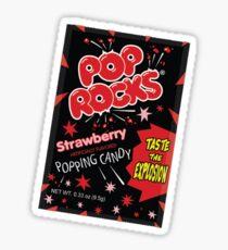 Pop Rocks Sticker