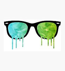Melting Vision - Cool Shards Photographic Print