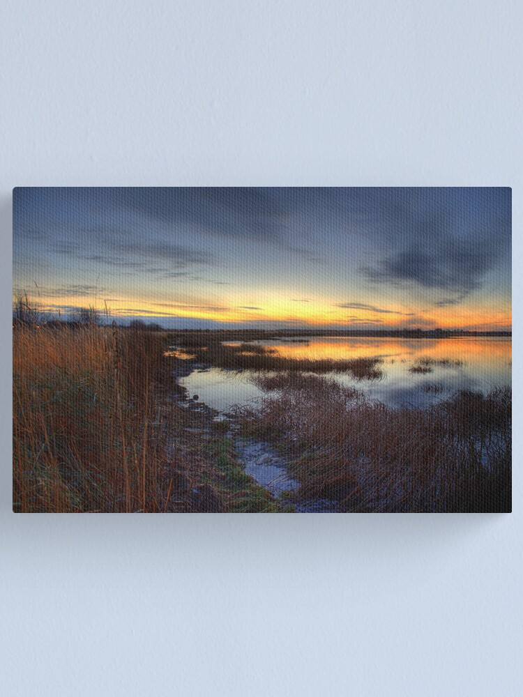 Alternate view of Evening on the Water Canvas Print