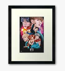 BTS DNA Fan Art Framed Print