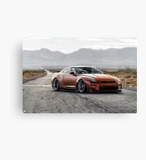 Nissan GTR Canvas Print