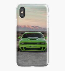Widebody Dodge Hellcat iPhone Case/Skin