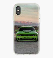 Widebody Dodge Hellcat iPhone Case