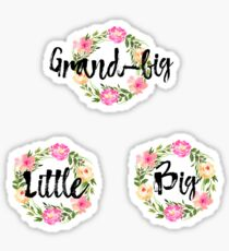 Big Little Grand-big sticker pack  Sticker