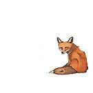 Cheeky Lil' Fox by ElizabethReneeP