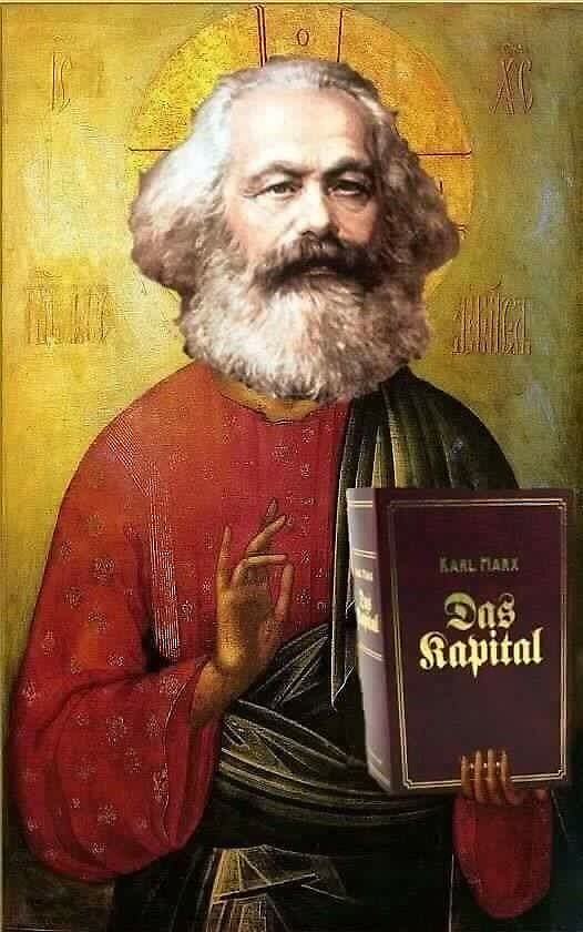 Saint Karl Marx  by innawoods