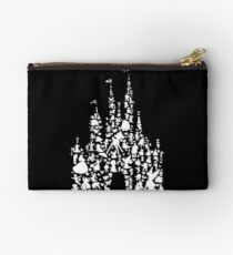 Happiest Castle On Earth Inverted Zipper Pouch