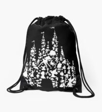 Happiest Castle On Earth Inverted Drawstring Bag
