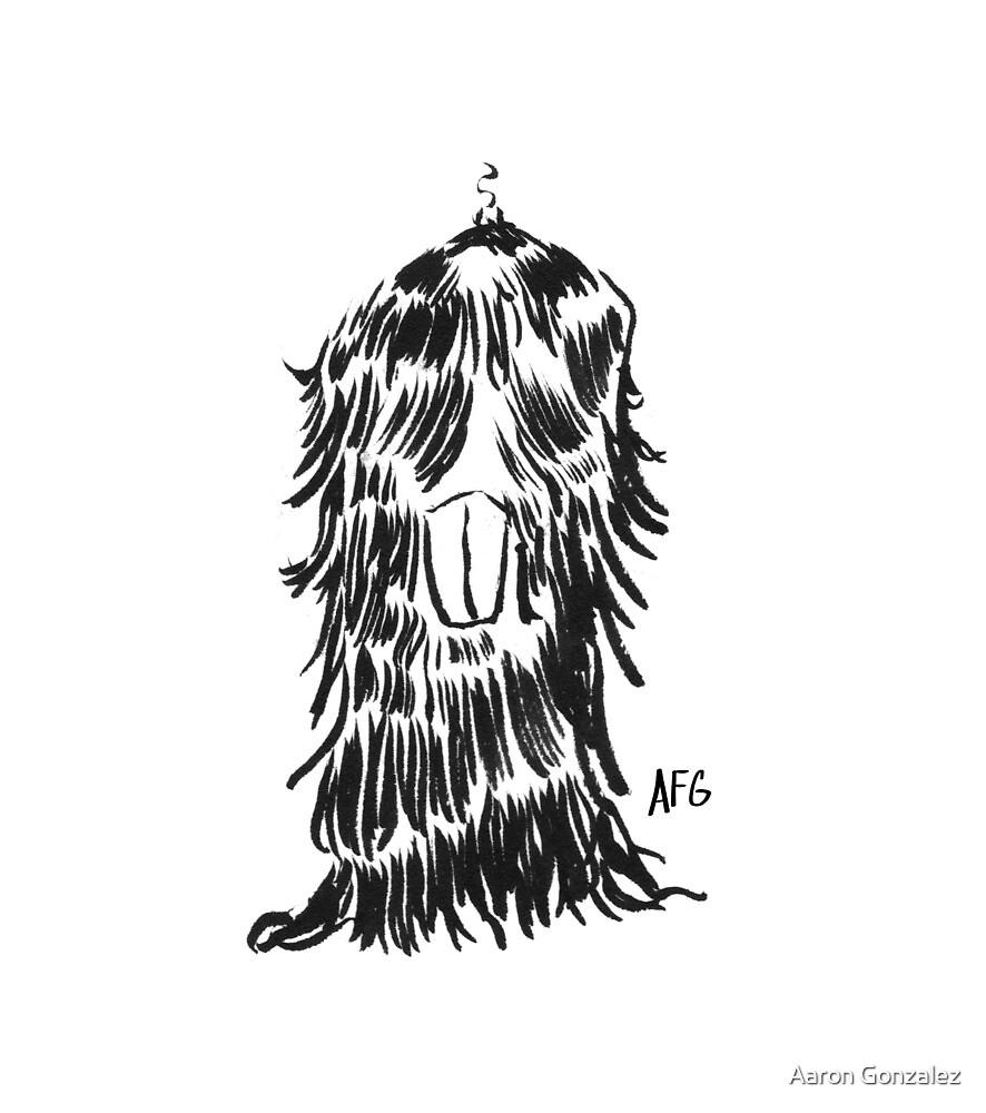 Inktober 2015 Day 27 - Fur and Teeth by Aaron Gonzalez