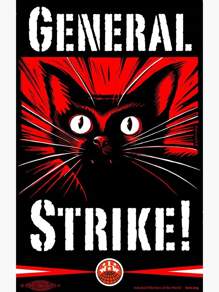 IWW General Strike Sabocat by innawoods