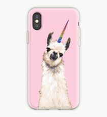 Unicorn Llama iPhone Case