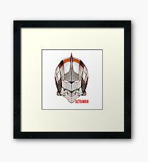 Ultraman Act X SH  Framed Print
