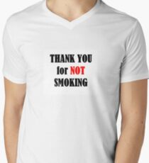 Thank You For Not Smoking T-Shirt